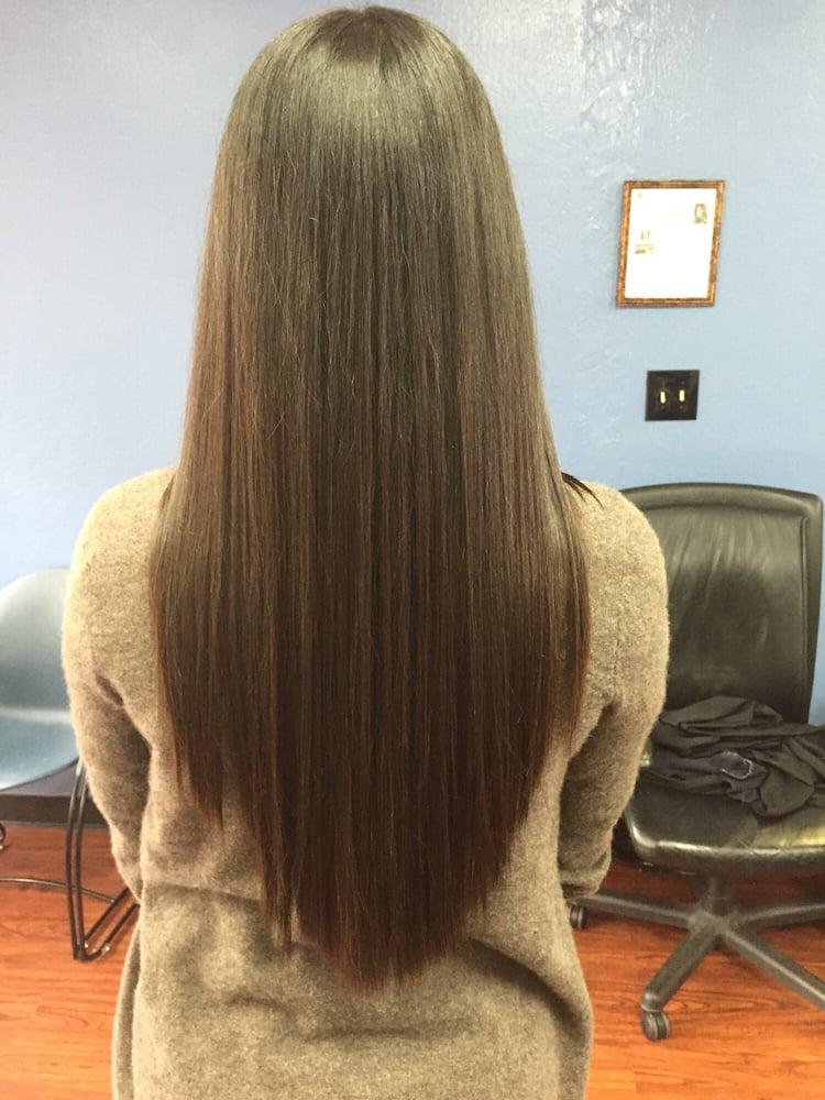 U Shaped No Layer Haircut Yelp