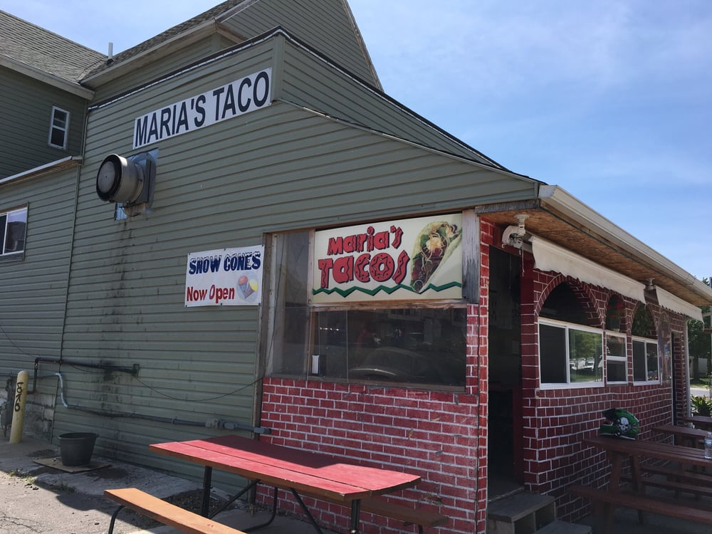 Maria's Tacos: 108 State St, Marshalltown, IA