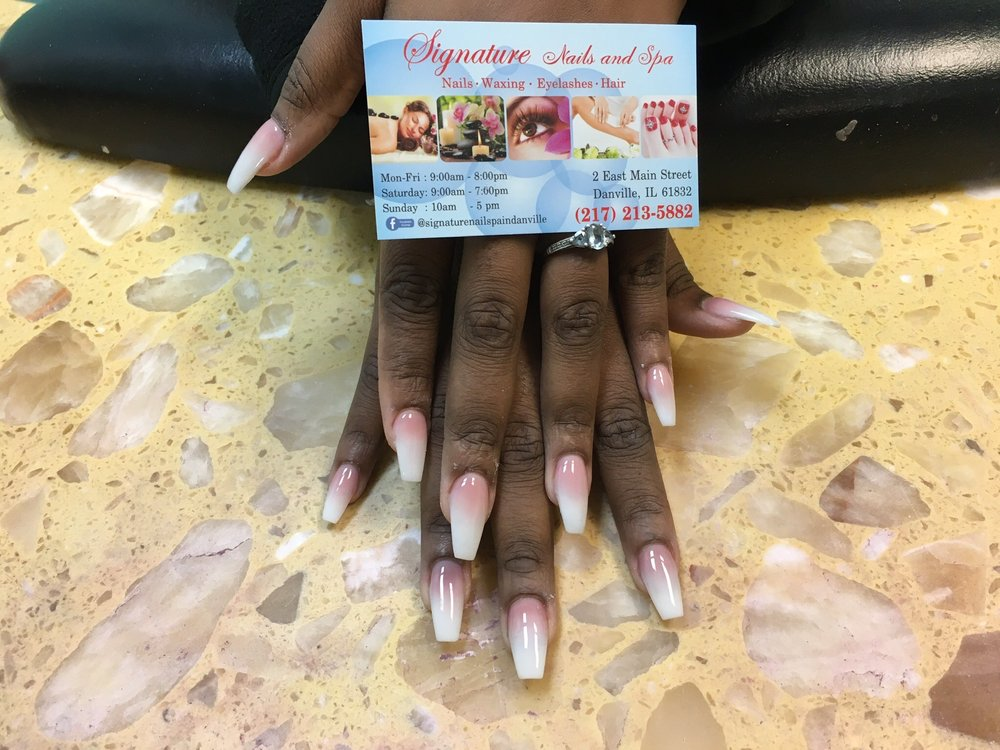 Signature Nails & Spa: 2 E Main St, Danville, IL