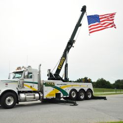 Photo of Fling's Towing Inc. - Coatesville, PA, United States. Heavy towing