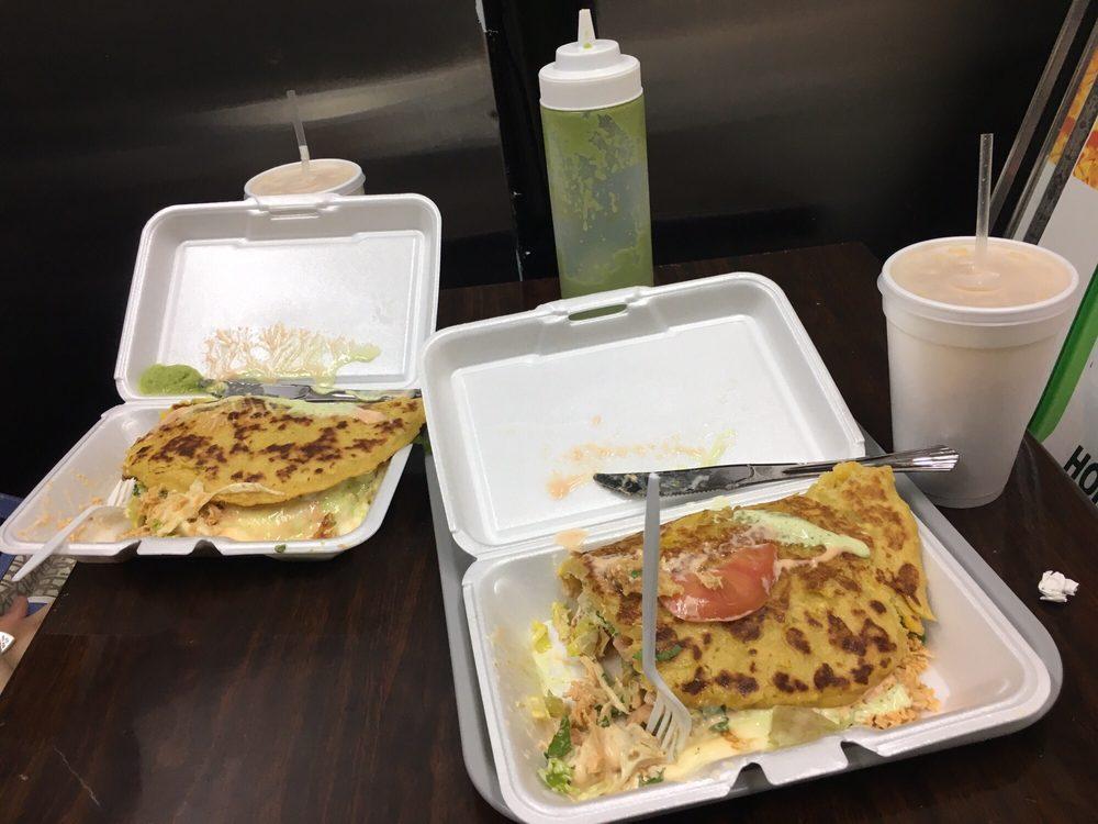 Food from Cachapa Cachapa