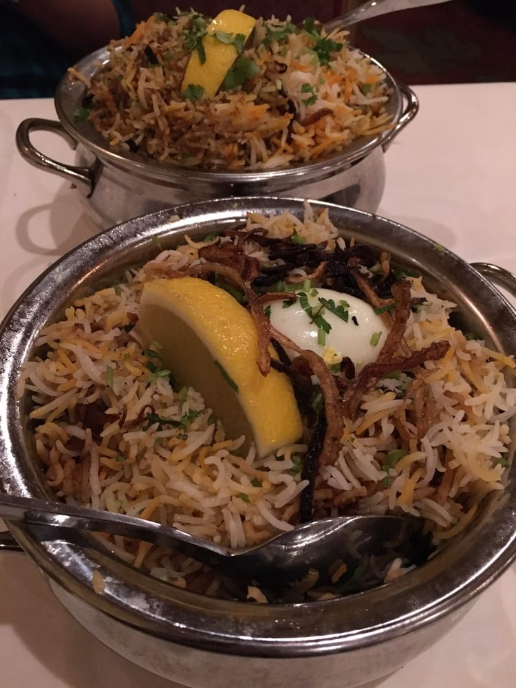 The chicken biryani was good goat biryani wasn 39 t great for Amber indian cuisine