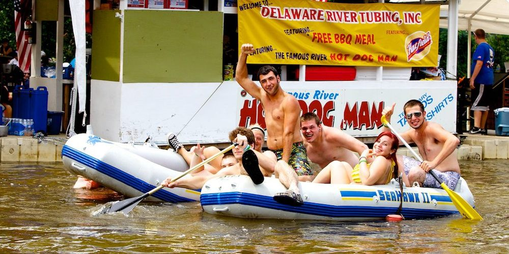 Delaware River Tubing: 778 Frenchtown Rd, Milford, NJ