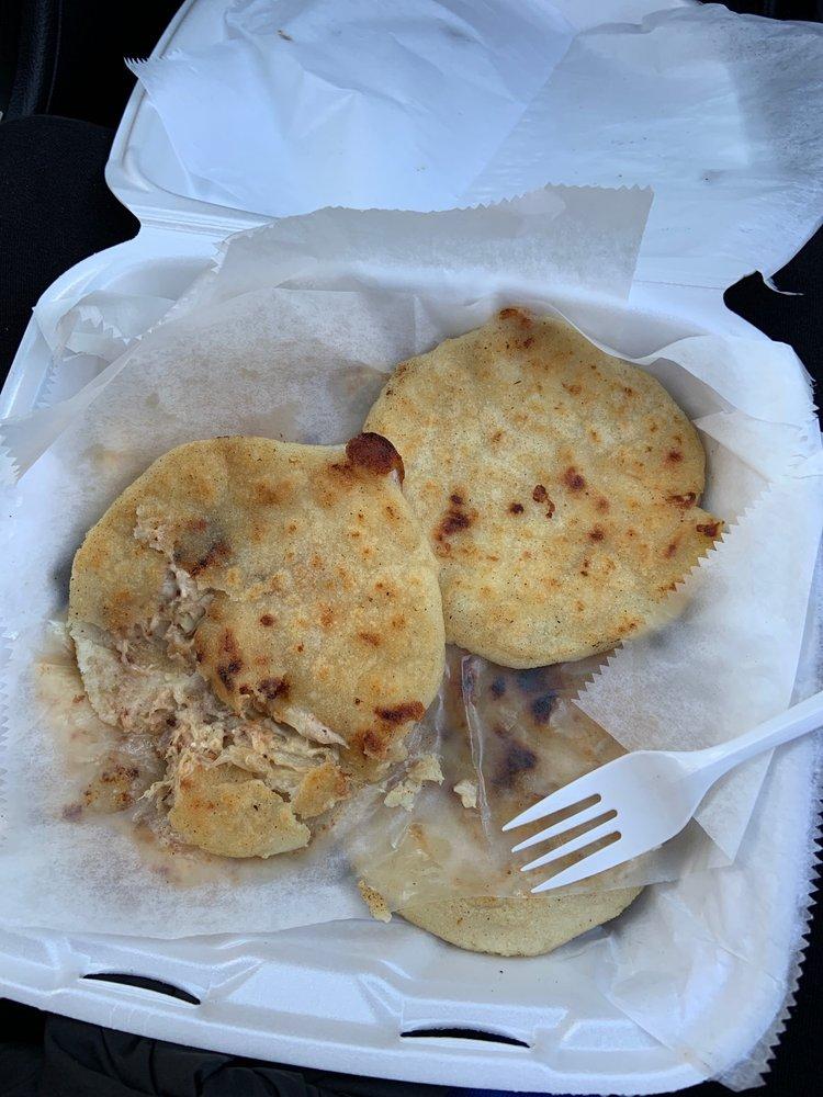 Food from Pupuseria Salvadorena