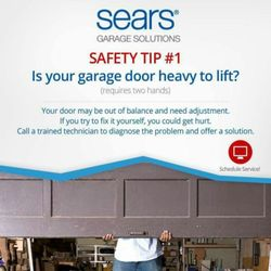 sears garage door installation and repair 14 photos