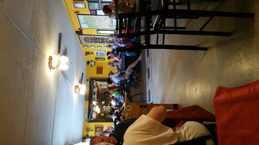 Photo of Julia's German Stammtisch - Columbia, SC, United States. A look from a small table near the bar