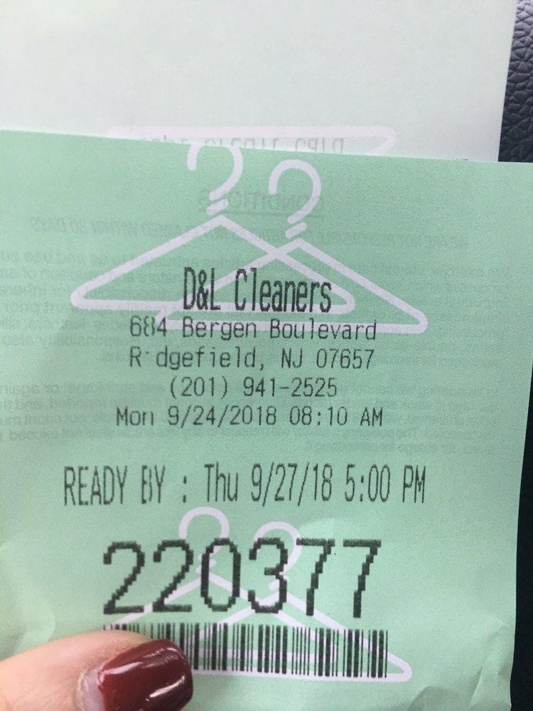 D & L Cleaners: 684 Bergen Blvd, Ridgefield, NJ