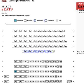 Franklin Theatre Seating Chart