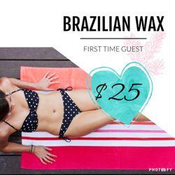Beach bikini brazilian pompano wax