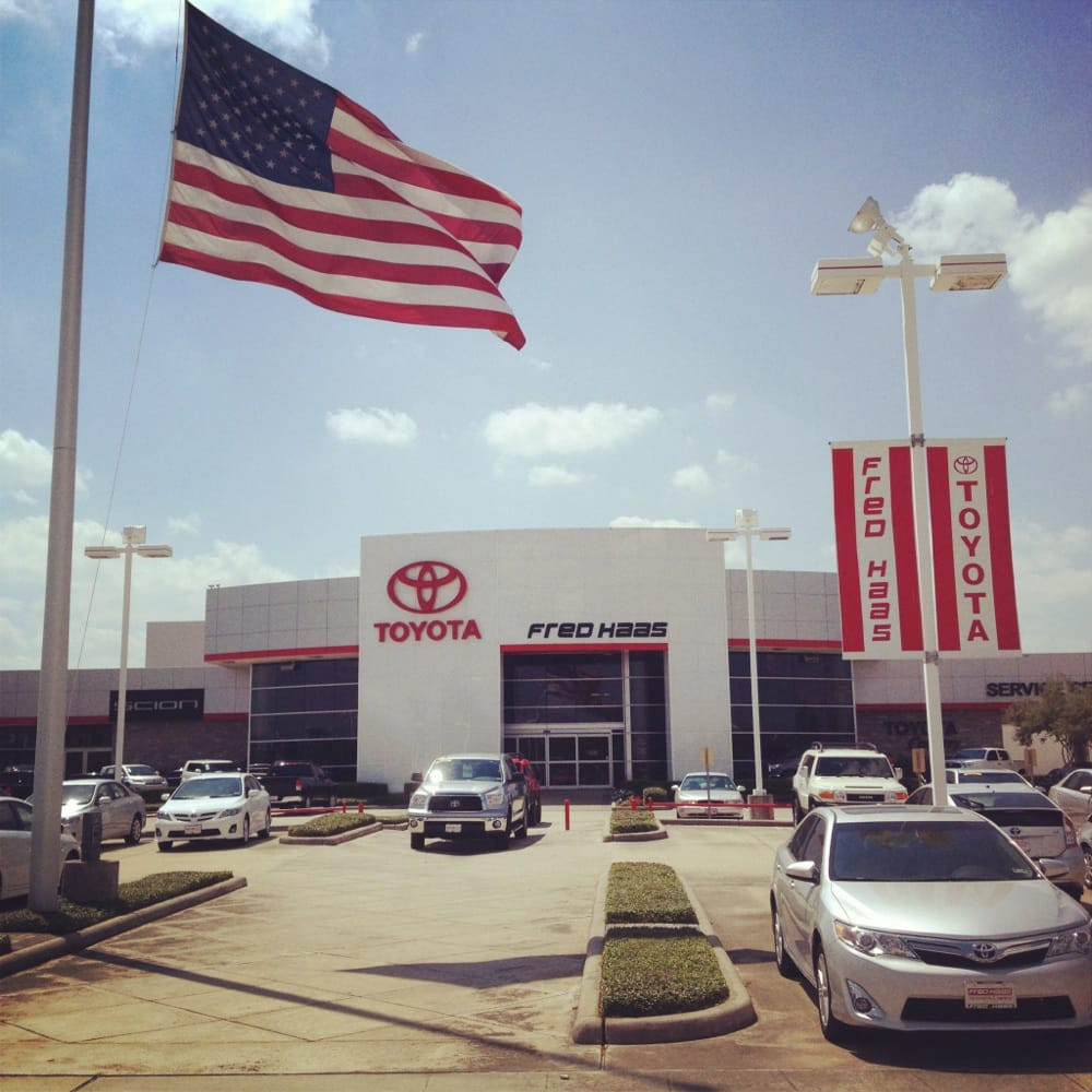 Fred Haas Toyota Country 27 Photos 178 Reviews Car Dealers 22435 State Hwy 249 Houston Tx Phone Number Yelp