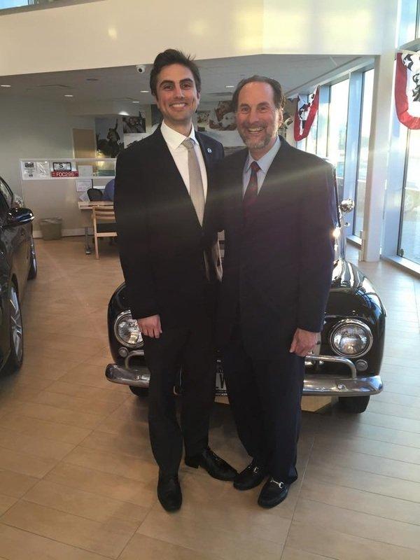 Daniel Karp, Vice President and David Karp, President of Karp ...