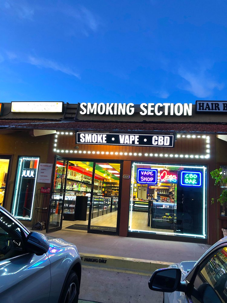 Smoking Section Smoke Shop