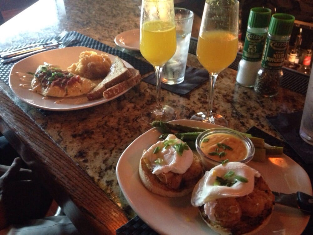 His And Hers Brunch At Bonefish He Had A Western Omelette She Had Bang Bang Shrimp Eggs
