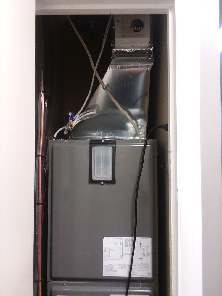 Rheem Heat Pump During Installation - Yelp