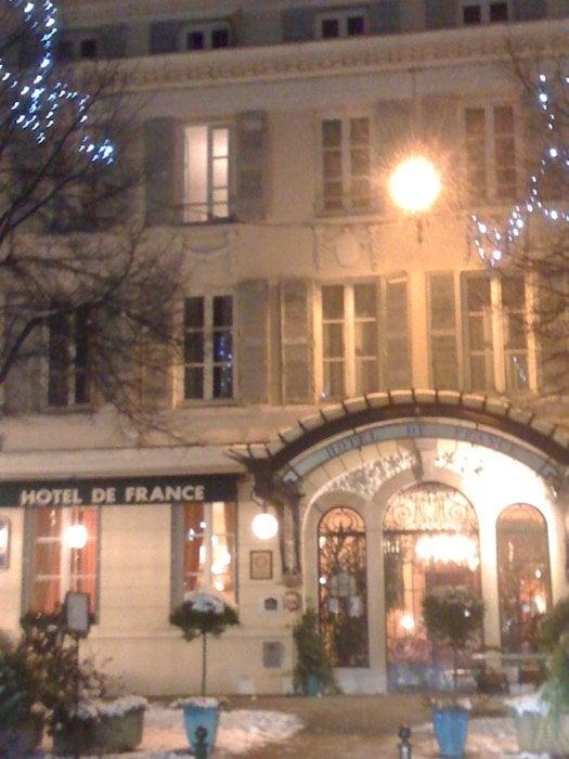 H tel de france h tels 19 place bernard bourg en - Chambre de commerce de bourg en bresse ...