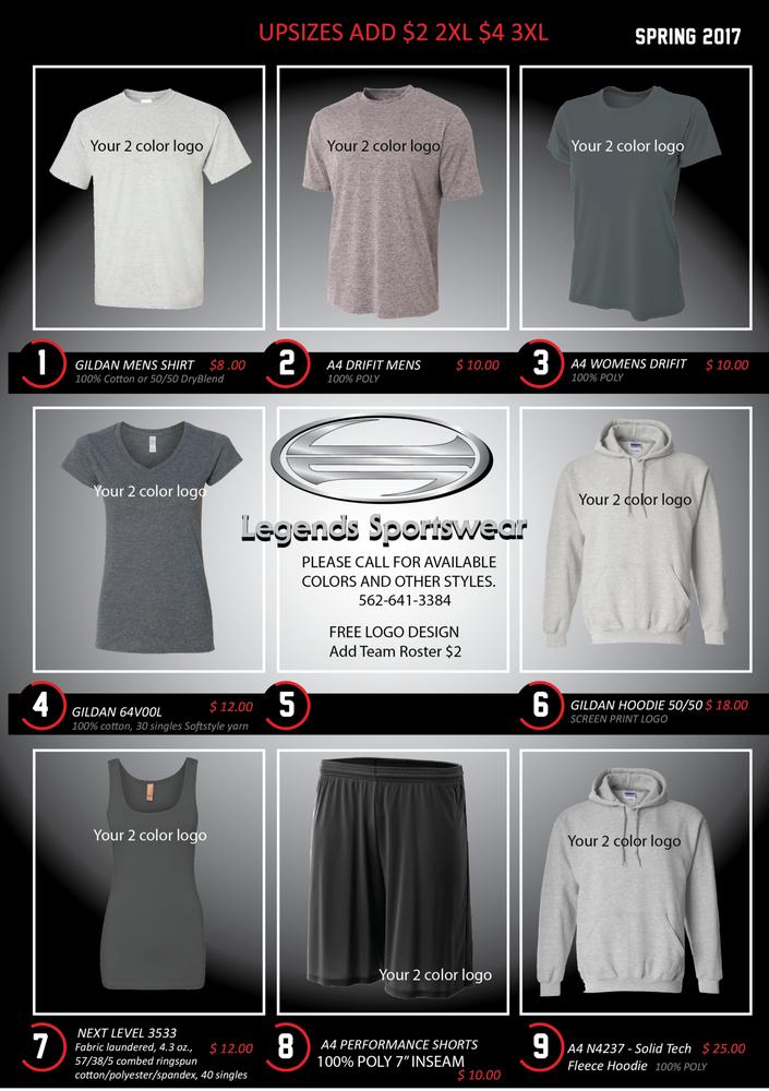Legends Sportswear
