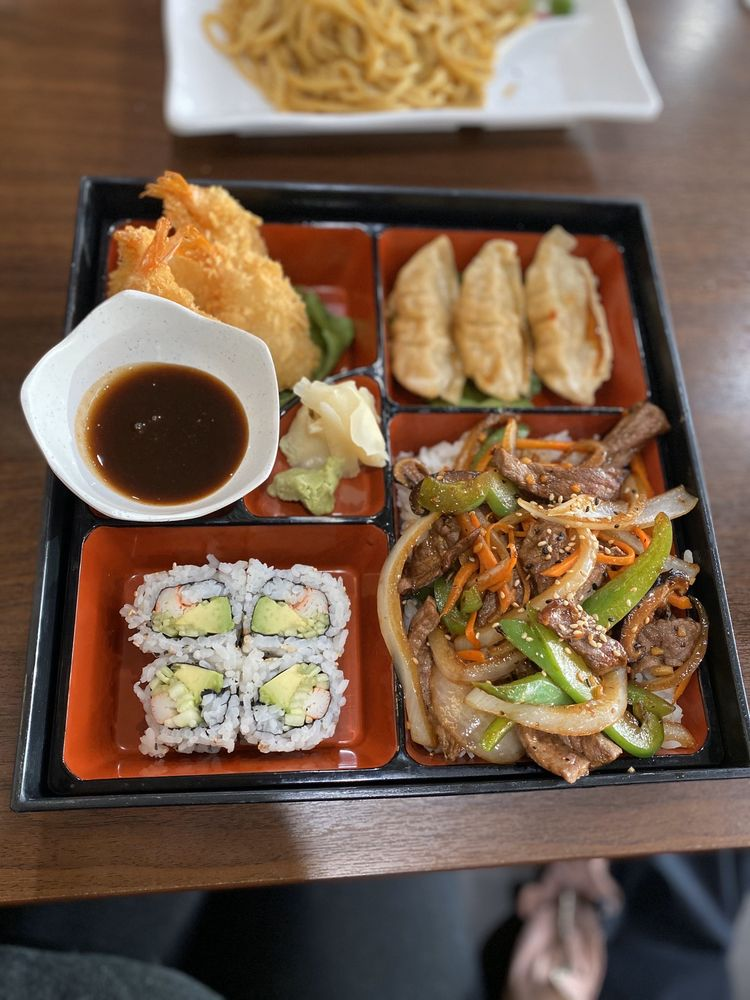 Food from Tokyo Sushi & Steakhouse