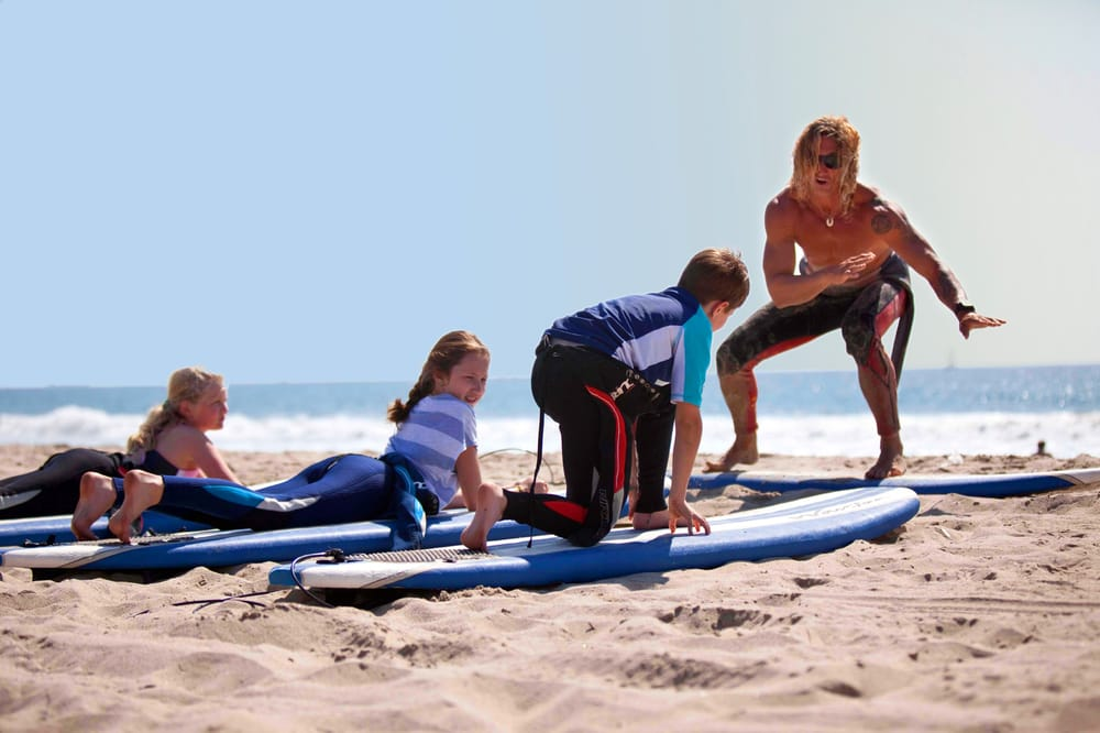 Photo Of Kapowui Surf Lessons Venice Beach Ca United States