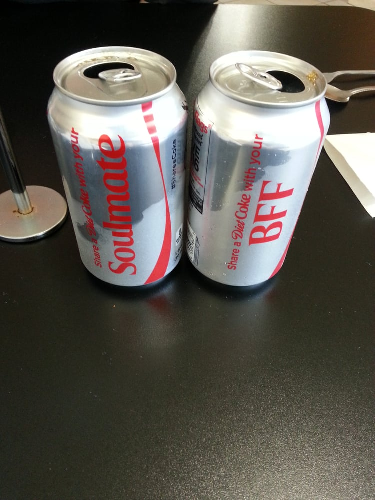 Kristina 39 s steve 39 s diet coke cans amused that 39 s what for Kitchen 713 reservations