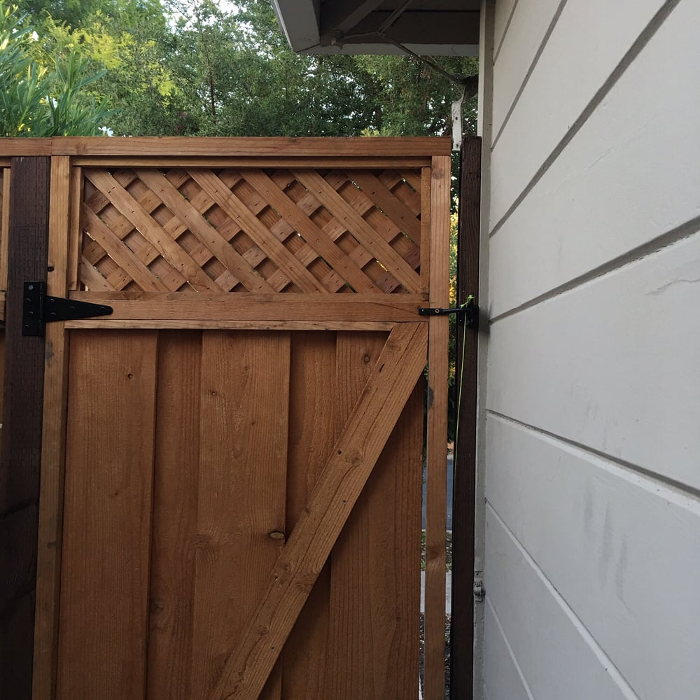 A Bamboo Gate In Palo Alto: Photos For Ramfer Fence Company