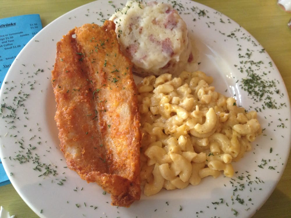 Photo Of Terra Cafe Baltimore Md United States Fried Fish With The