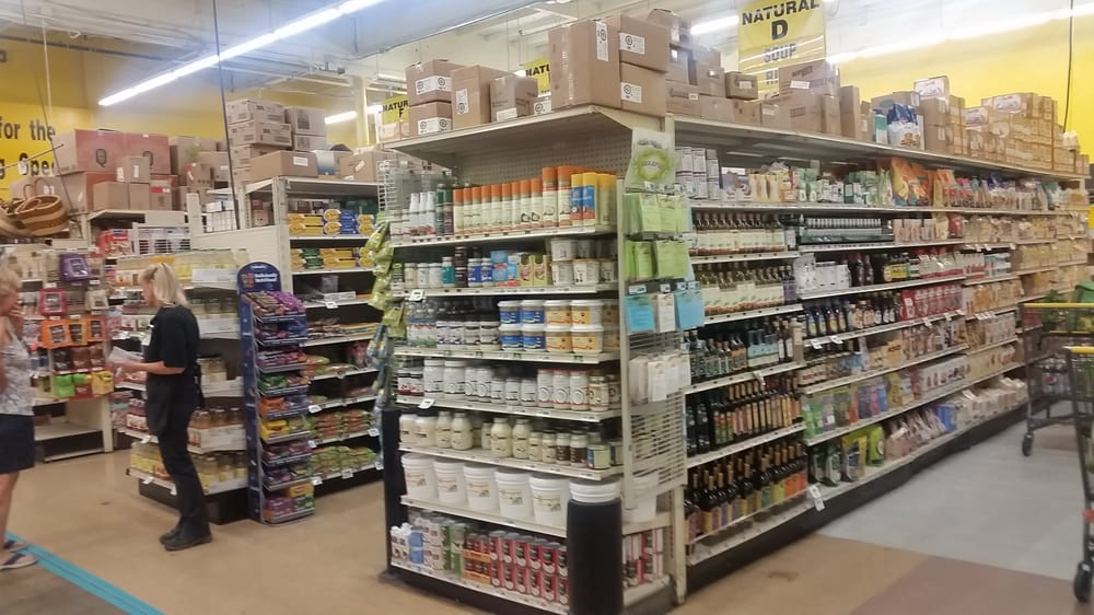 Natural Foodsvegan Section Is Large Enough To Be Considered Its