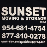Perfect ... Photo Of Sunset Moving And Storage Group   Fort Lauderdale, FL, United  States.