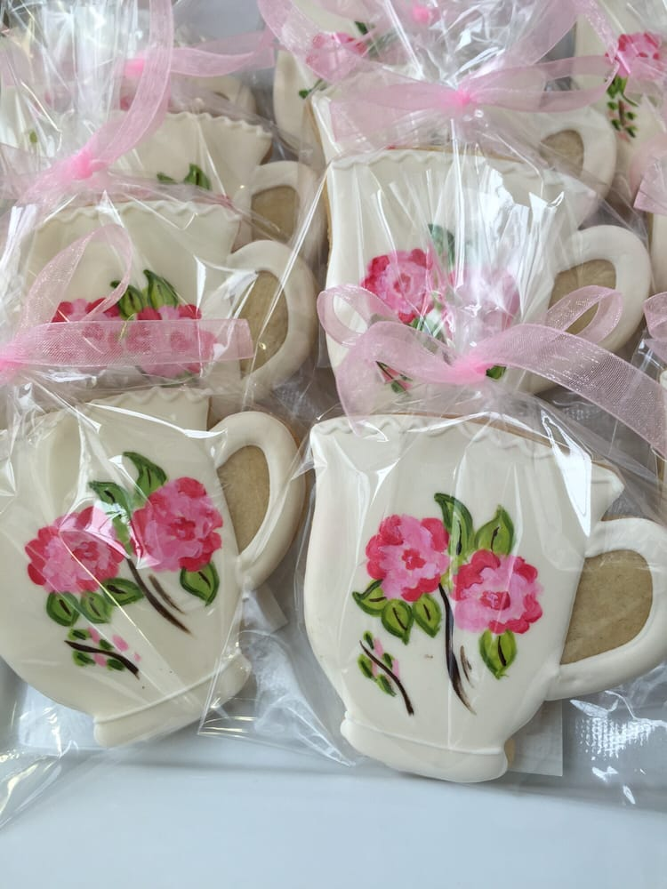 photo of bakers bloom lexington ma united states hand painted tea cup