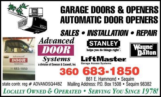 Advanced Door Systems: 861 E Hammond St, Sequim, WA