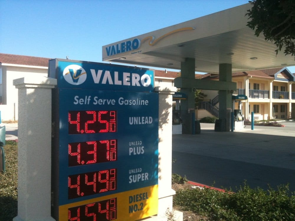 Diesel Gas Station Near Me >> Valero - Gas Stations - 416 Reservation Rd, Marina, CA - Yelp