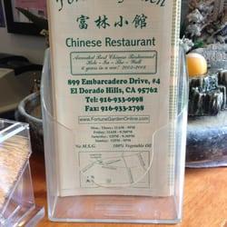 Chinese Food In El Dorado Hills