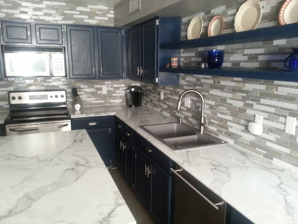Our New Formica 180fx Countertops In Cafe Azul   Yelp