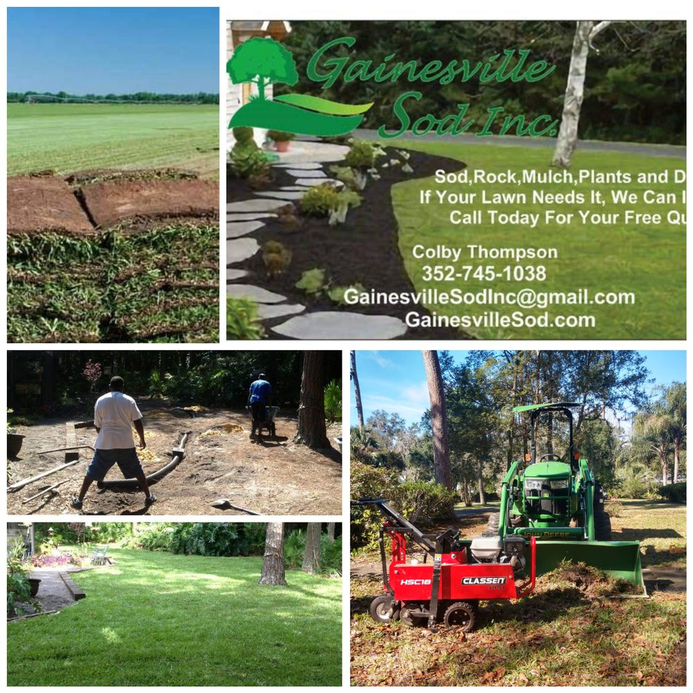 Gainesville Sod: 5105 NW 109th Ln, Gainesville, FL