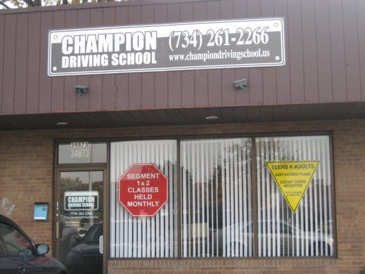 Champion Driving School >> Champion Driving School Driving Schools 34873 Ford Rd