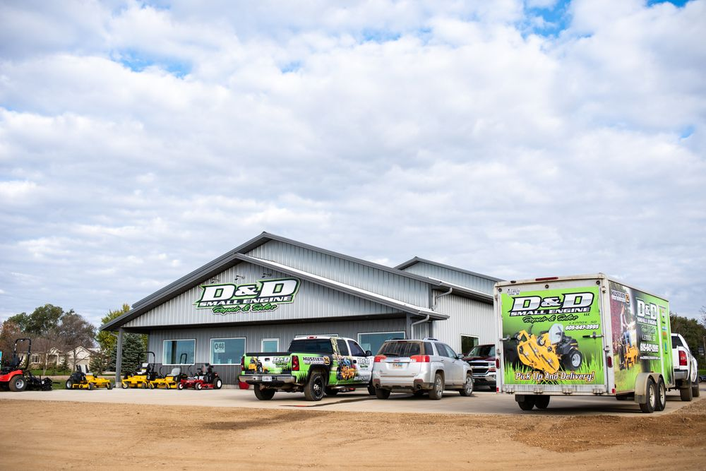 D&D Small Engine Repair & Sales: 27688 466th Ave, Lennox, SD