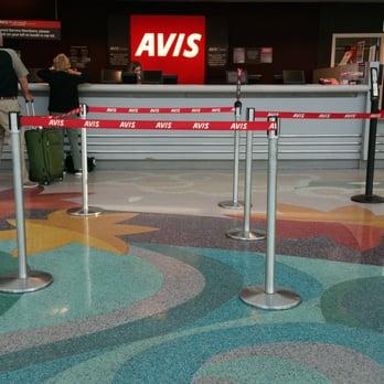 Avis Rental Car At Ontario Airport