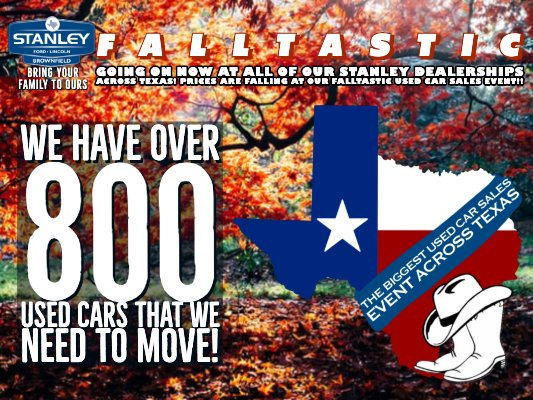 Stanley Ford Lincoln: 1708 Lubbock Rd, Brownfield, TX