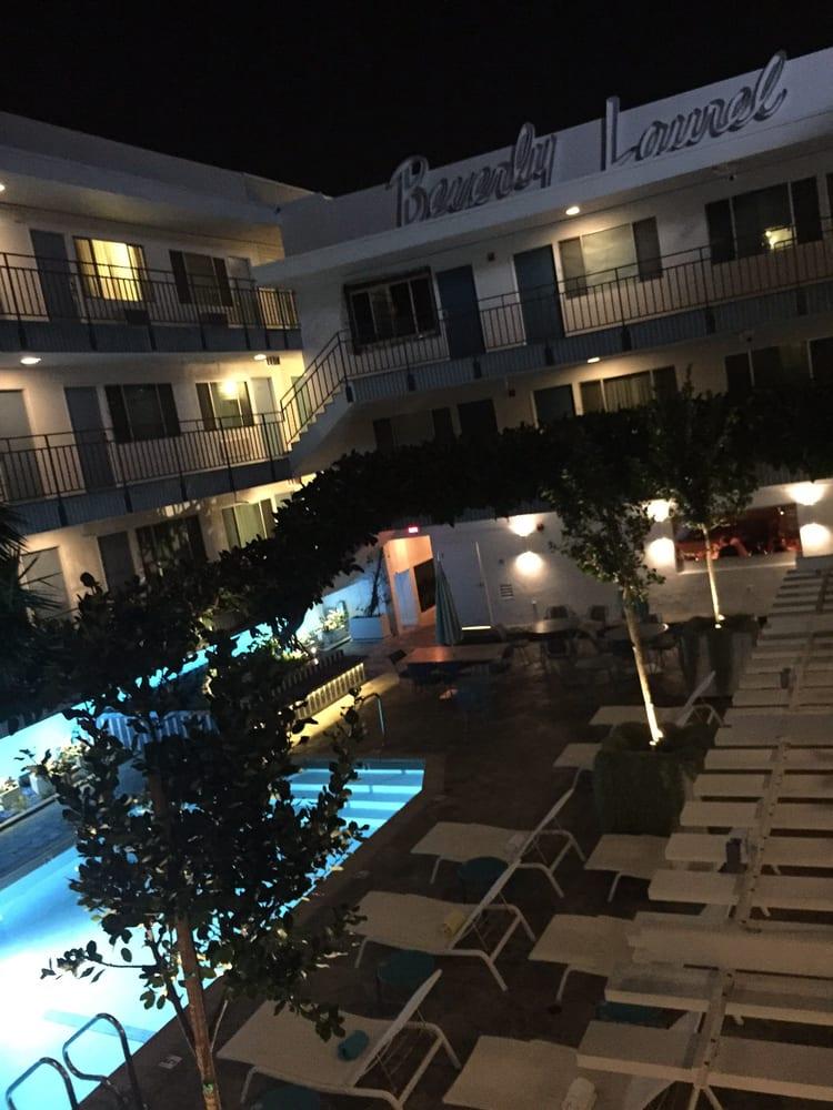 The inside of the hotel yelp for Beverly laurel motor inn