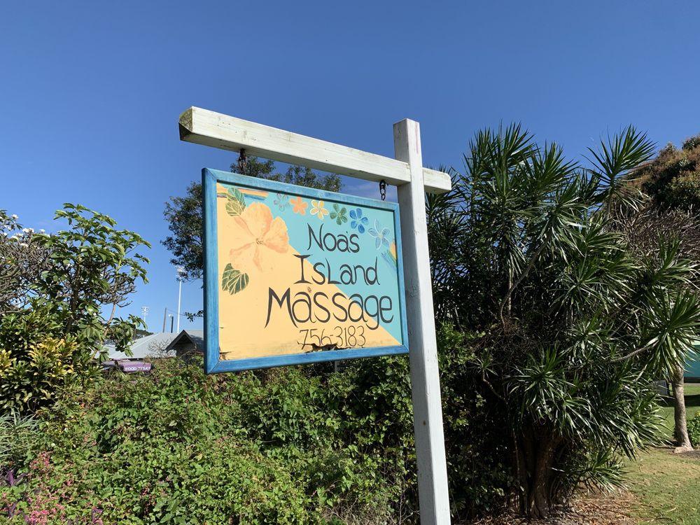 Noa's Island Massage & Yoga: 95-5649 Mamalahoa Hwy, Naalehu, HI