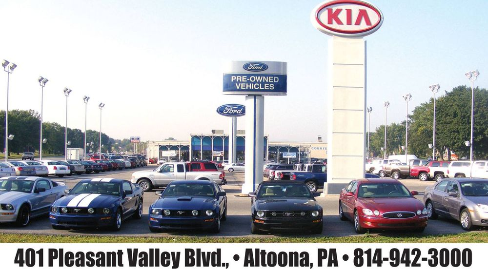 Courtesy Ford Lincoln: 401 Pleasant Valley Blvd, Altoona, PA