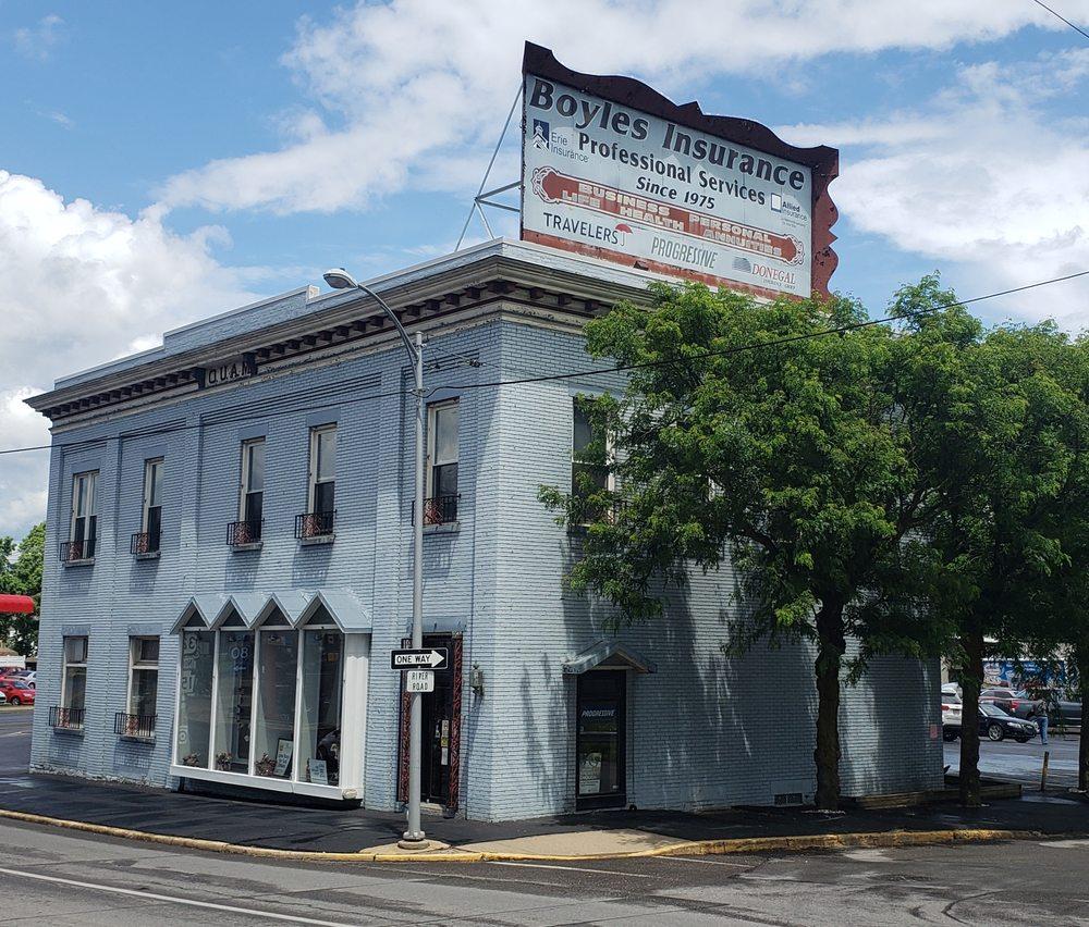 Boyles Insurance: 11 Nichols St, Clearfield, PA