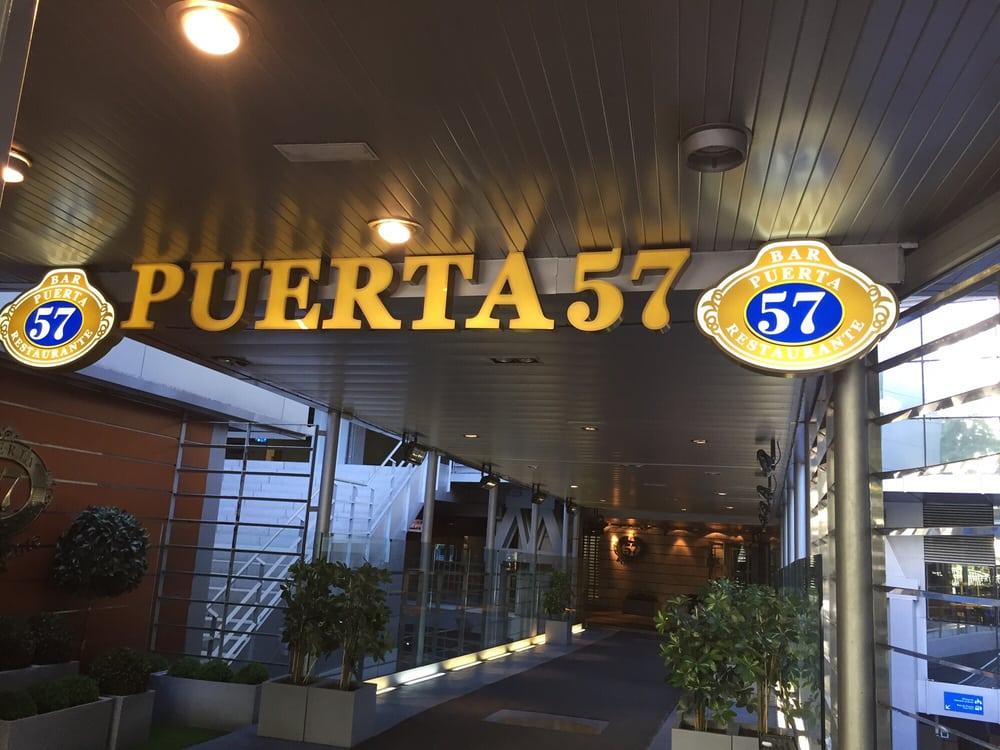 Entrada a un gran restaurante yelp for Puerta 57 restaurante