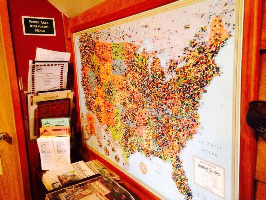 Visitor Information Center: 1411 S Forks Ave, Forks, WA