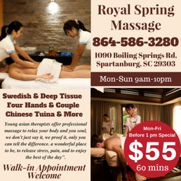 massage sc Asian spartanburg
