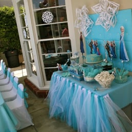 Disney Frozen Girls Party Kids Tables And Chairs