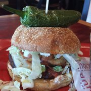 Burnin' Love Burger - Menu - Red Robin Gourmet Burgers - Redondo Beach