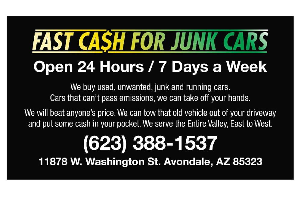 Fast Cash For Cars - Car Dealers - 11878 W Washington St, Avondale ...