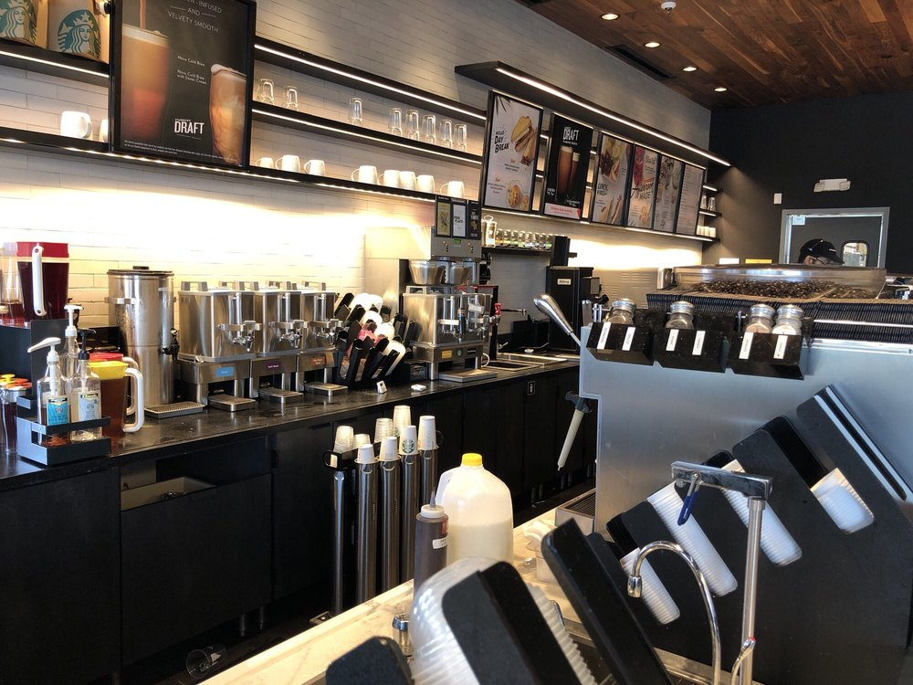 Starbucks: 22420 Flagstaff Plaza, Ashburn, VA
