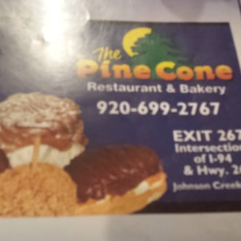 Pine Cone Restaurant Johnson Creek Wi Menu