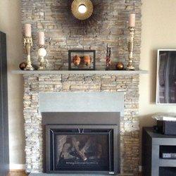 Photo Of Ambler Fireplace Patio Colmar Pa United States